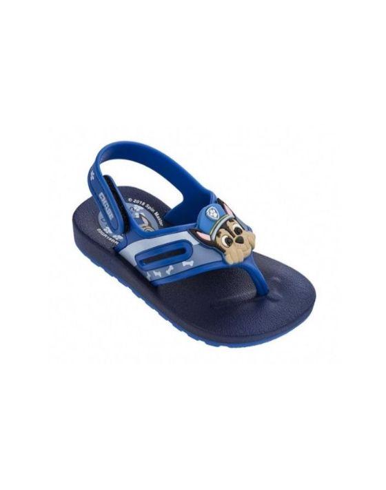 sandalia paw azul