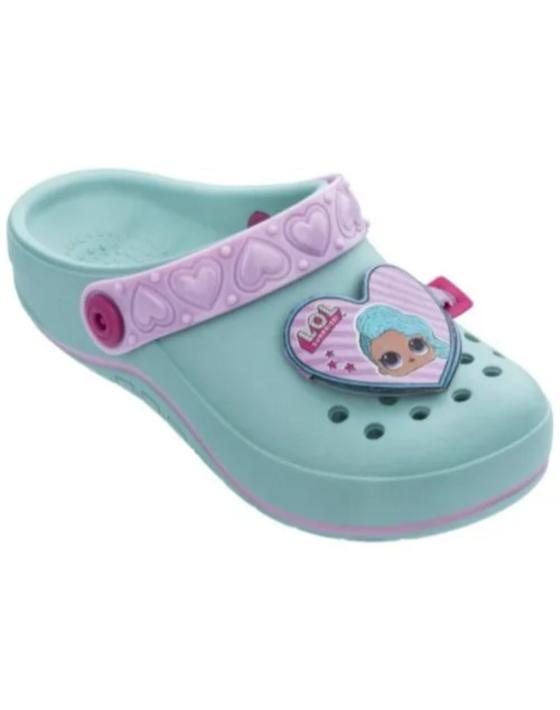crocs lol aqua