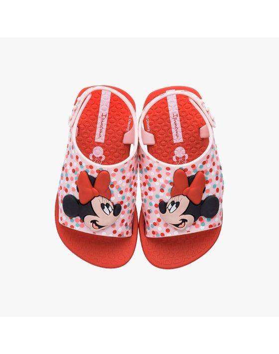 sandalia minnie rojo