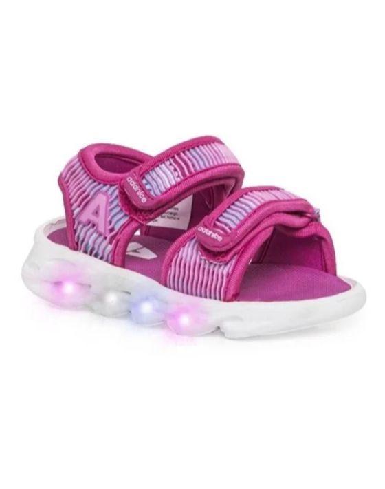 sandalia add luz rosa