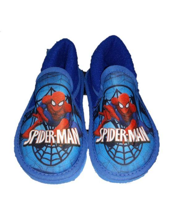 pantufla spider azul