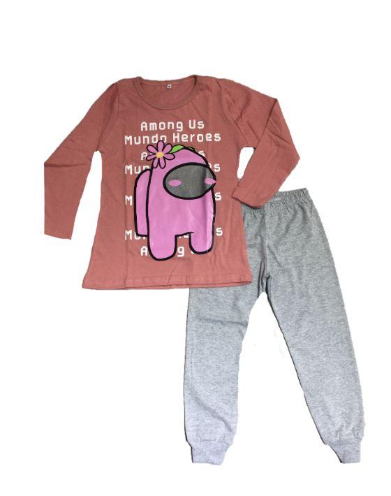 pijama among rosa