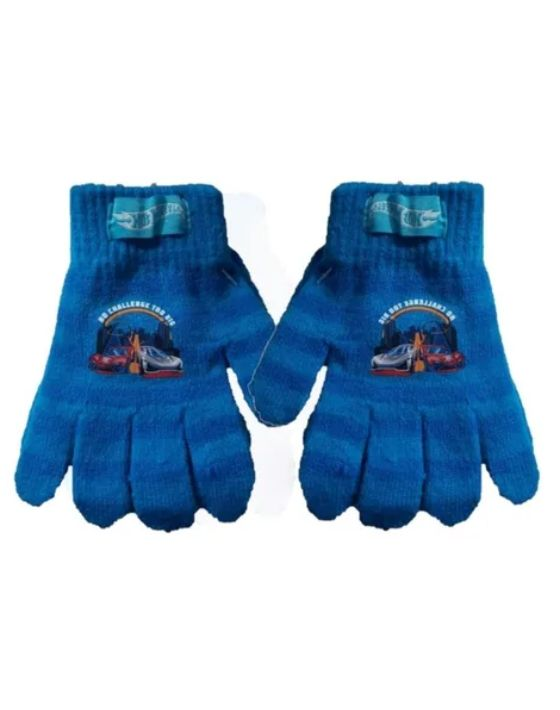 guantes hot wheels celeste