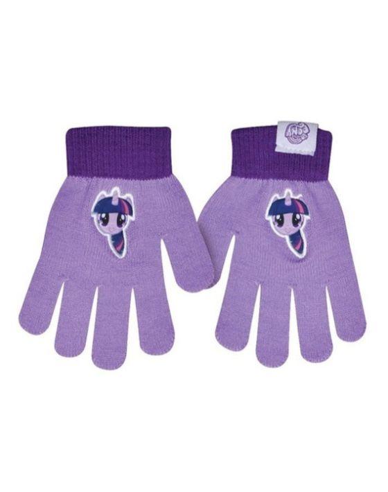 guantes pony lila