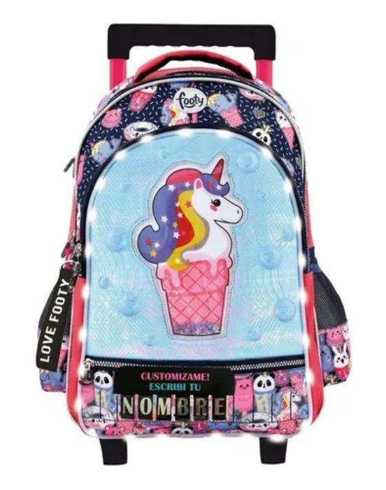 carro unicornio helado