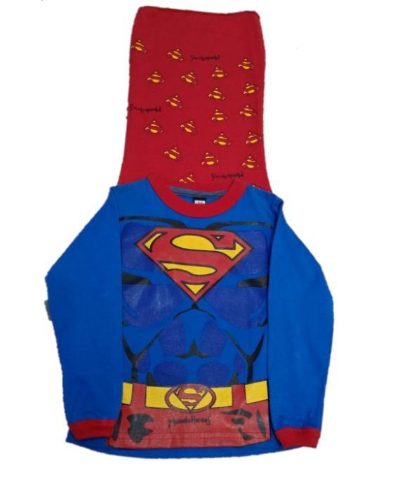 remera superman capa